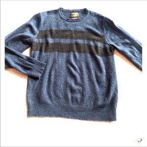 UK Lambswool Sweater Springfield Sz L